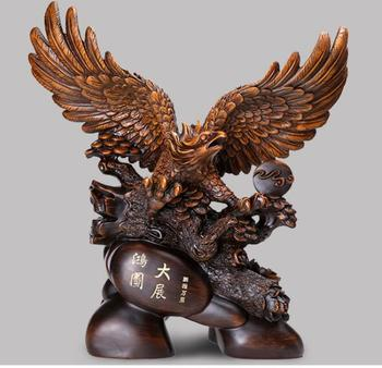 Equestrian future Bright prospects The eagle furnishing articles To open gift Office desk open Art wine cabinet crafts statue