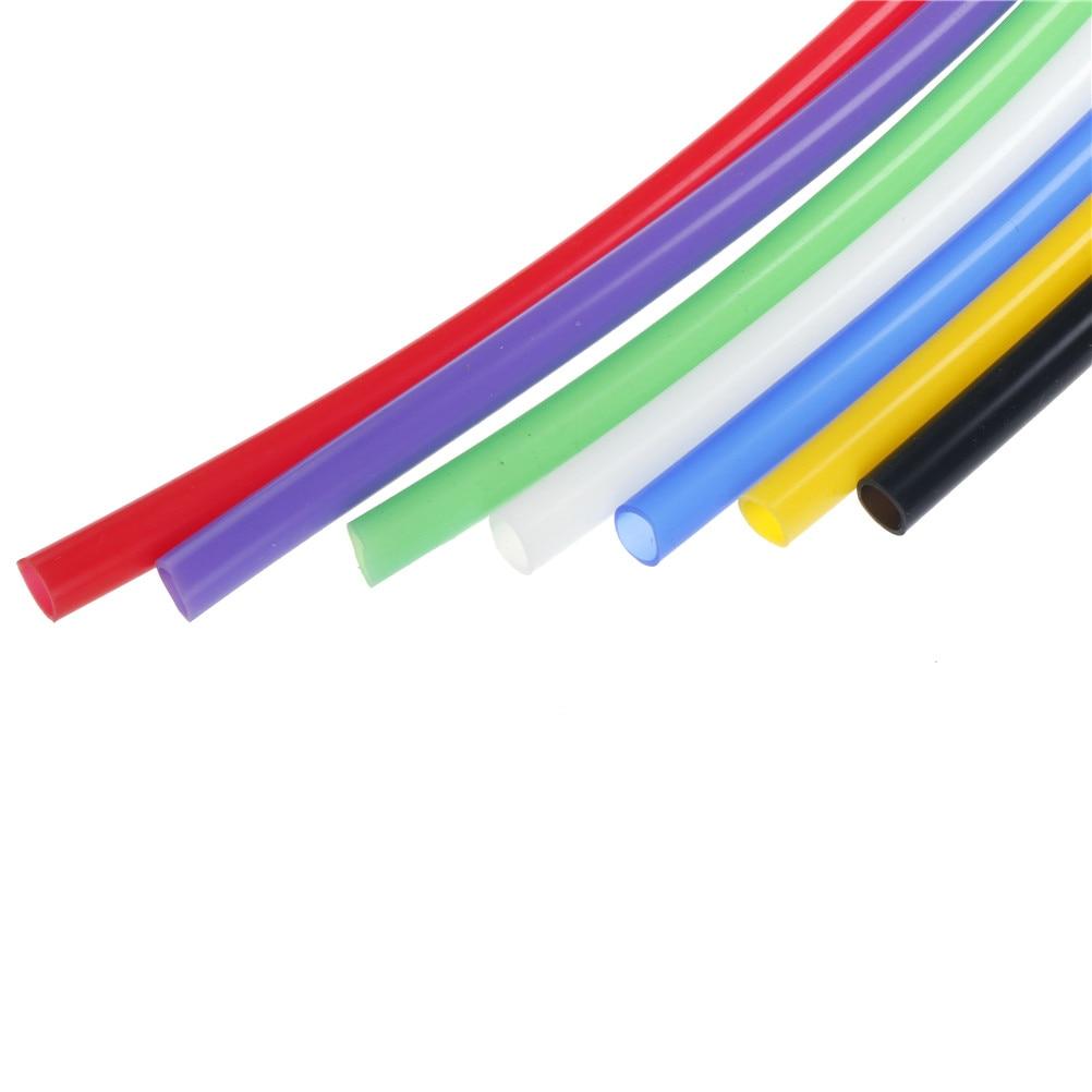 1 Meter Silikon Rohr Hohe Und Niedrigen Temperatur Widerstand Geschmacklos Ungiftig Transparent Schlauch 8mm * 10mm Elegant Im Stil