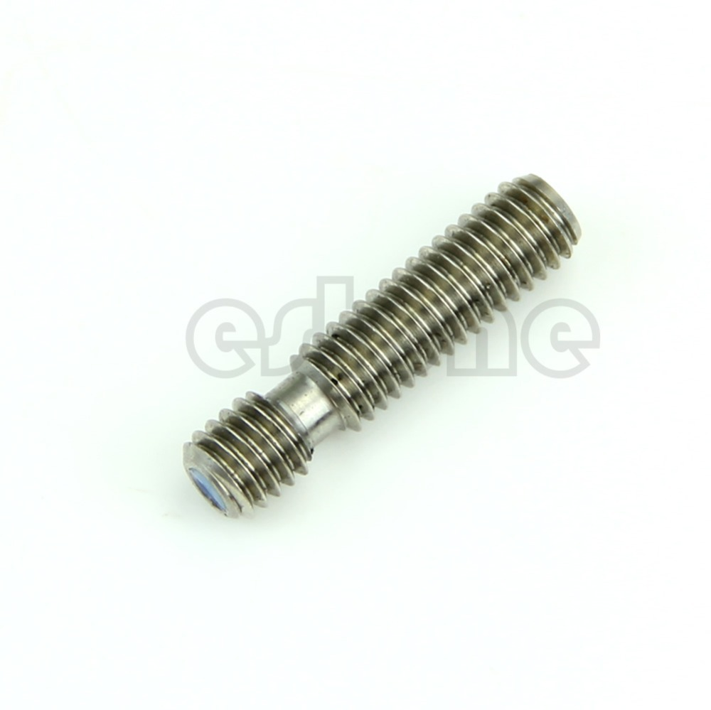 M6x26 Stainless Steel Nozzle Throat Fr Reprap 3D Printer Extruder Hot End 1.75mm