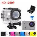 НОВЫЙ 1080 P SJ4000 WIFI Действие Мини-Камера HD 2.0 дюймов Рекордер Cam Спорт DV Pro Видеокамера Защитный Чехол мешок