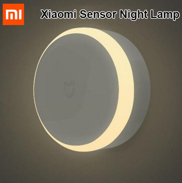 imágenes para Original Xiaomi mijia corredor LED night light Control Remoto Por Infrarrojos sensor de Movimiento del cuerpo humano Para xiaomi mi home Lámpara de noche