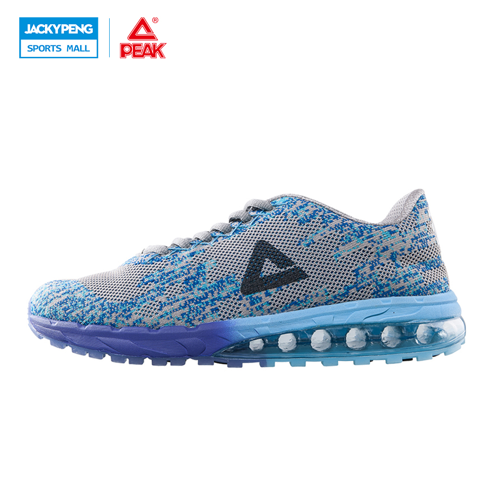 PEAK Sport Shoes Mens 2017 Breathable Mesh Cushion Running Sneaekers Shoes For Men Big Size Shoes 40-45 kelme 2016 new children sport running shoes football boots synthetic leather broken nail kids skid wearable shoes breathable 49