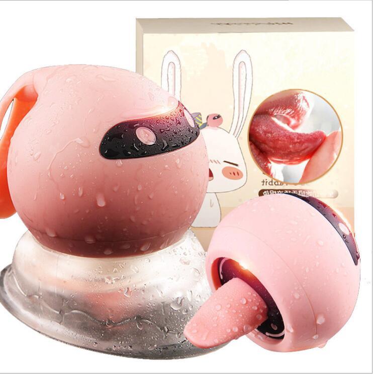 Langue léchant sucer mamelon ventouse vibrateur sex shop jouets pour adultes jouets sexuels pour femme clitoris stimulateur lapin vibrateurs pour wo