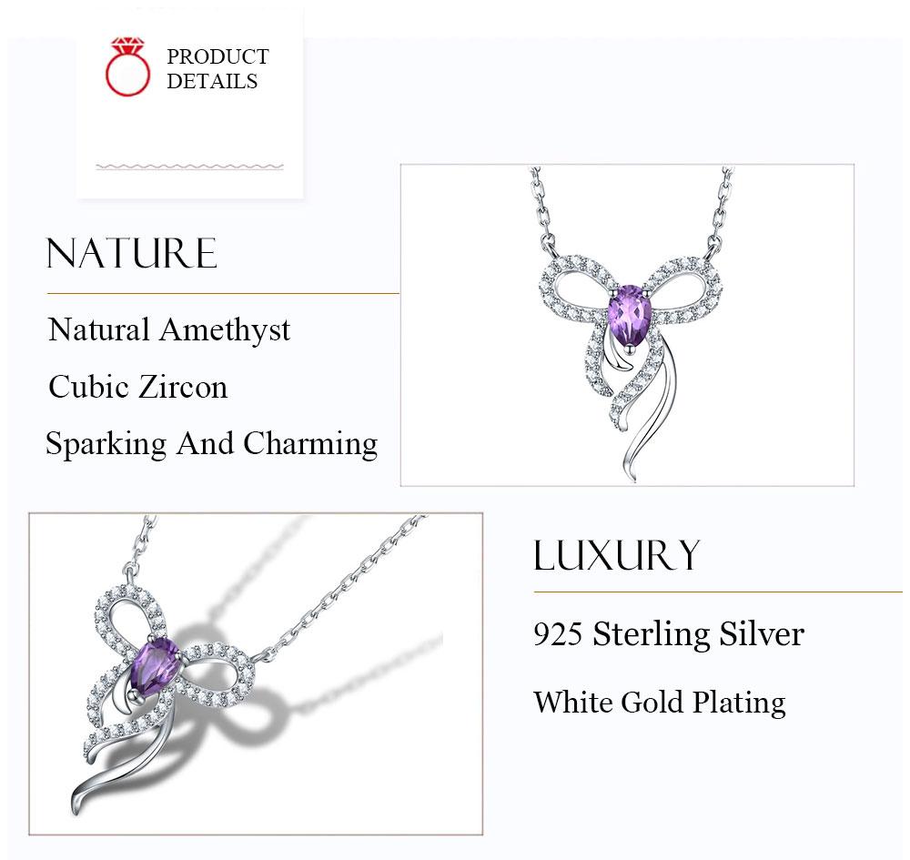 silver amethyst necklaces CAnl00382sa-1 (6)