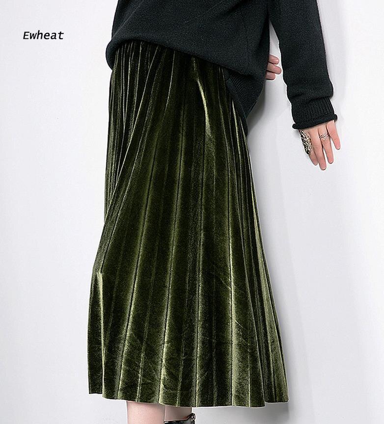 Online Buy Wholesale velvet maxi skirt from China velvet maxi ...
