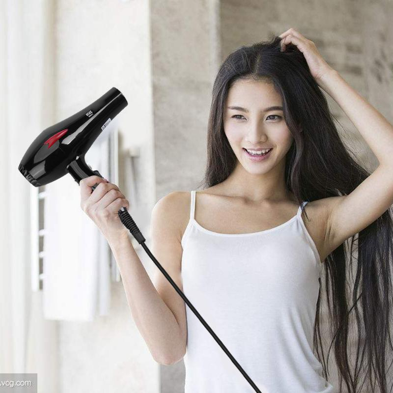 2500W High-power Hair Dryer Professional 2 Gears Cold Hot Wind Electric HairdryHome Salon Hair Blower Styling Tool EU UK Plug