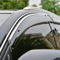 Hohe Qualität 4 teile/satz I30 Wind Regen/Sonne Guards Visor Vent  markisen & Heime für Toyota 2009 2010 2011 2012 2013 2014 I30-in Chrom-Styling aus Kraftfahrzeuge und Motorräder bei