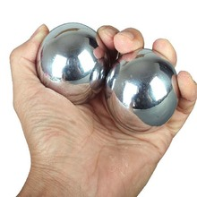Kung Fu Health ball Baoding fitness playing solid handball practical Martial art 304 stainless steel ball