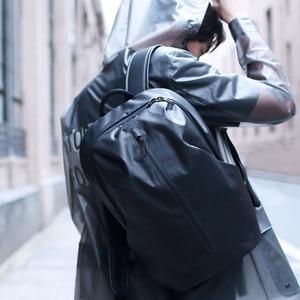 Image 3 - Youpin 90FUN 모든 날씨 기능성 배낭 패션 방수 가방 여행 대학 학교 Bussiness, 블랙/오렌지/블루 H20 #0