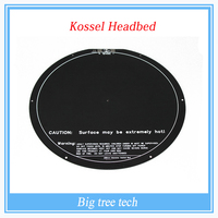 kossel rostock delta circular hot bed pcb 3d printer headbed delta 300mm