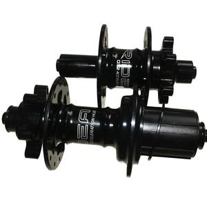 Image 1 - SEMA Ridea birdy moyeu liberacion rapida moyeu de frein à tambour de vélo pour système de frein à disque vélo de couleur noir ou argent 24 trous