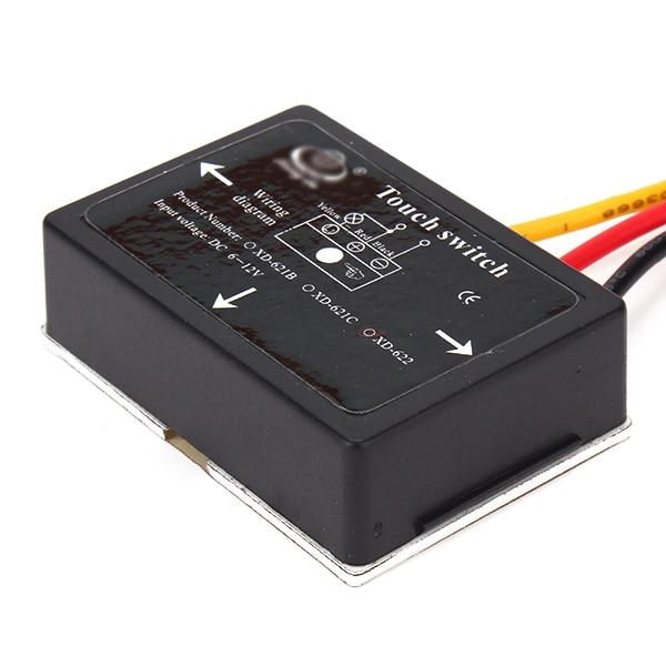 6-12V Bathroom Mirror 4 Mode XD-621C Touch Switch Sensor For Led Light