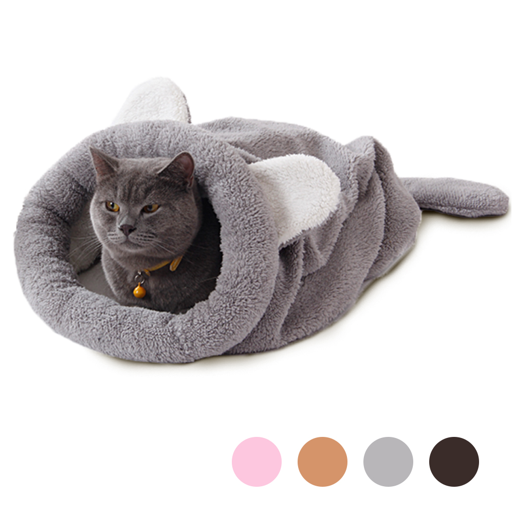 2016 Spomladi Novi izdelki Cat postelja Soft Topla Cat Hišne hišne podloge Puppy Cushion Rabbit Bed Funny Pet Products 4 Color