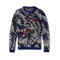 Mens Luxury Brand Designer Sweater Men Autumn Fashion Long Sleeve Pullover Men Cashmere Knitted Sweater High Quality DY180369