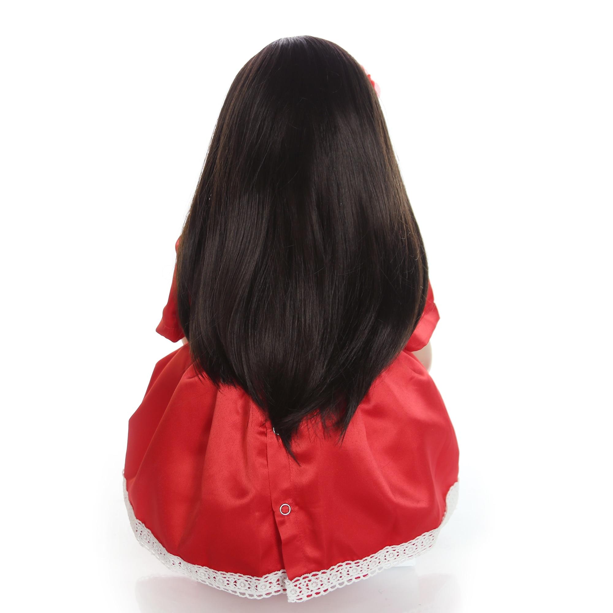 Keiumi 24 inch reborn baby doll toys 60 cm 비닐 공주 유아 아기 인형 소녀 생일 선물 현재 어린이 놀이 집 장난감-에서인형부터 완구 & 취미 의  그룹 2