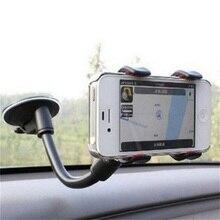 Universal Lange Arm Voorruit Mobiele Gsm Car Mount Bracket Houder Voor Uw Mobiele Telefoon Stand Voor Iphone Gps MP4