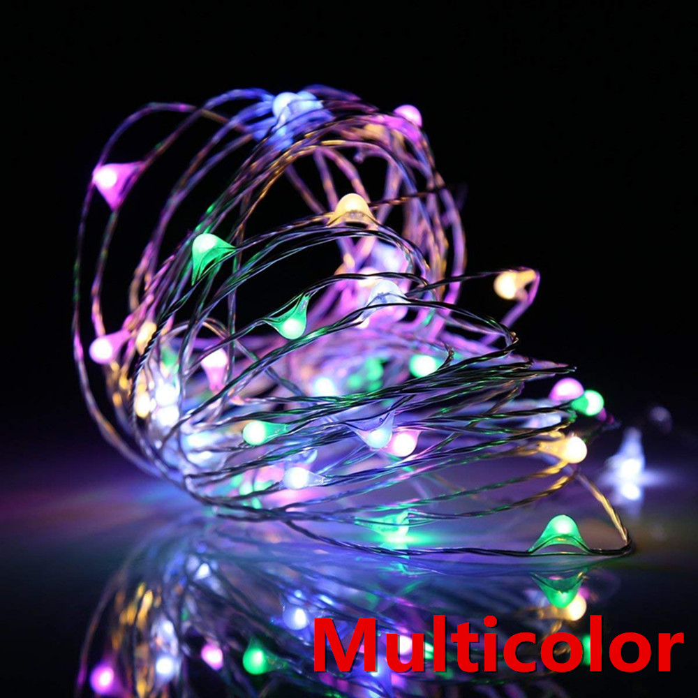 New Year light LEDs Outdoor  solar String Lights Fairy Holiday Christmas Party Garlands Solar Garden Helloween Decoration 14