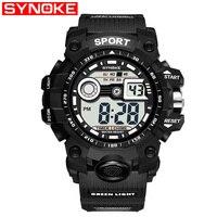 SYNOKE militaire Sport montre pour hommes marque G luxe Type choc montre-bracelet numérique montres pour homme horloge Relogio Masculino