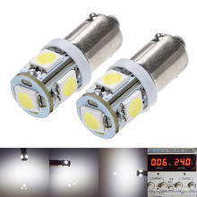 2/4 Pcs BA9S T4W T11 LED Bulbs Bayont 260 Lumen Car Lamp Super Bright White 6000K 6V 12V 24V DC