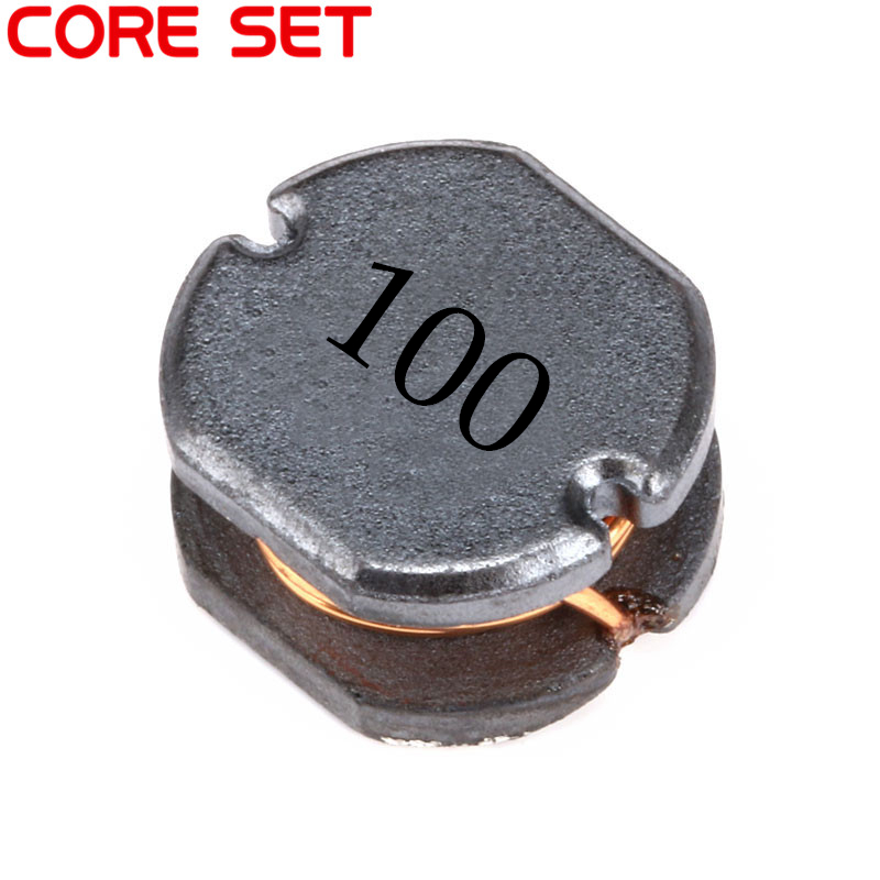 10pcs/lot SMD Power Inductor CD75 10UH 100 2A Wire Wound Chip Inductor