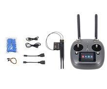 Original SIYI 2,4G 16 CH DK32S control remoto DK32S receptor integrado 20KM DATALINK para DIY agrícola Dron rociador