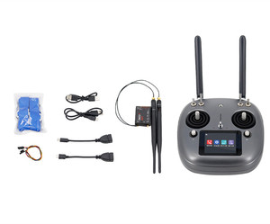 Image 1 - Original SIYI 2.4G 16 CH DK32S remote control DK32S receiver integrated 20KM DATALINK for DIY Agricultural spraying drone