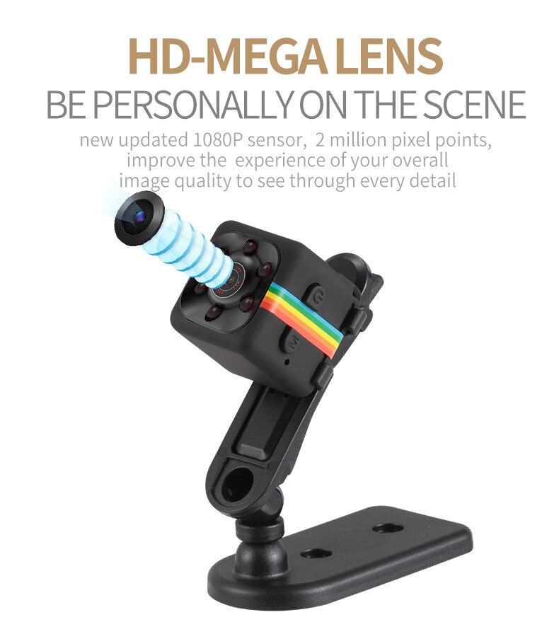 SQ11 HD Camera 1080P Night Vision Camcorder Camera 12MP video Camera DVR DV Motion Recorder Camcorder 5