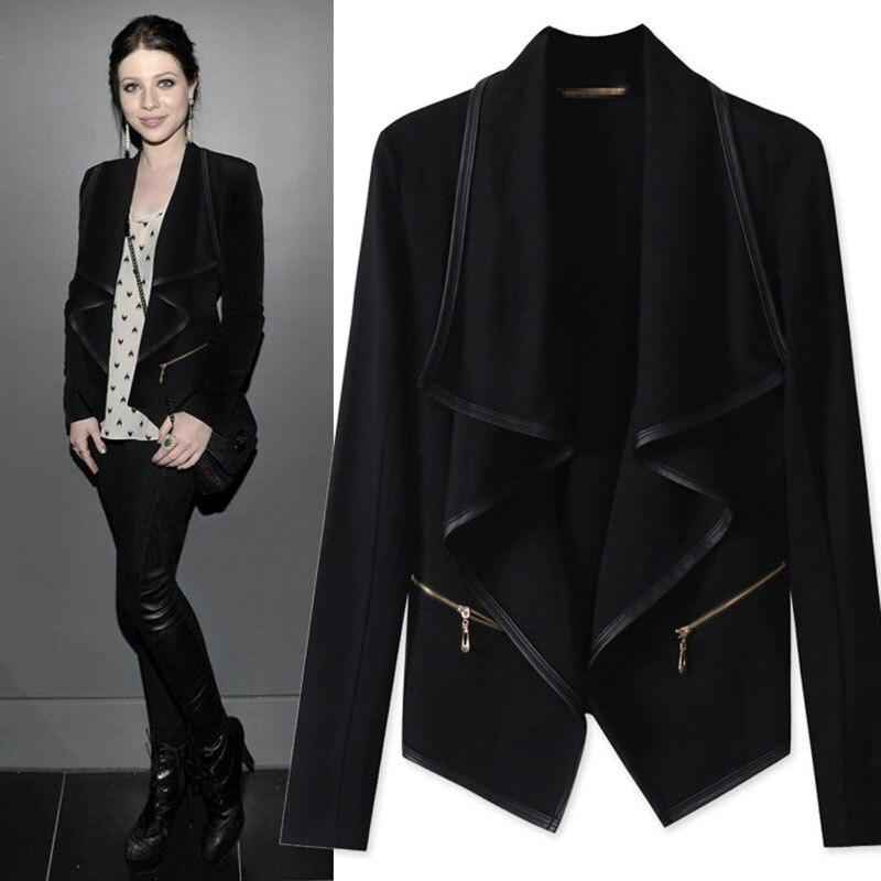 Black women's suit jacket – Fashionable jacket 2017 photo blog