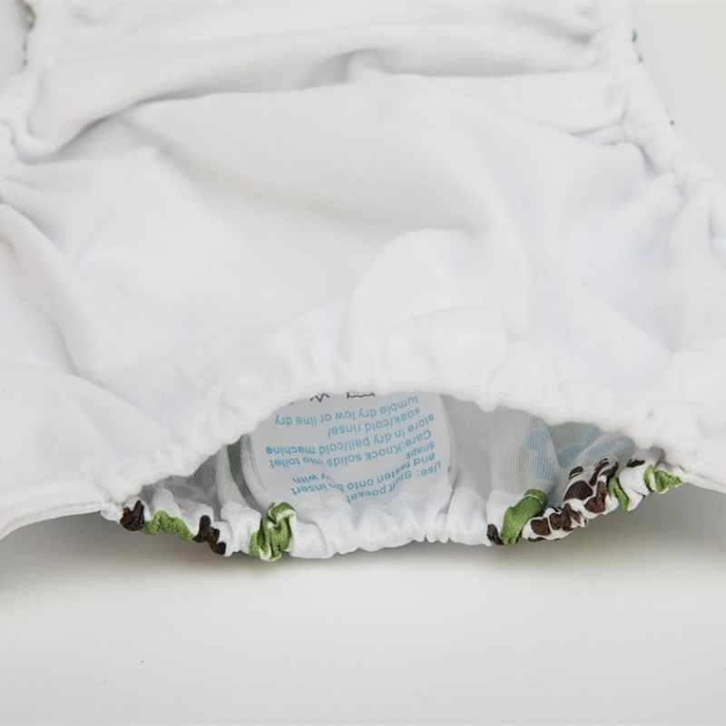 [Sigzagor] 아기 기저귀 기저귀 기저귀 1 재사용 빨, 조절, 3kg-15kg 8lbs-36lbs 어린이 Microfleece 내부 삽입