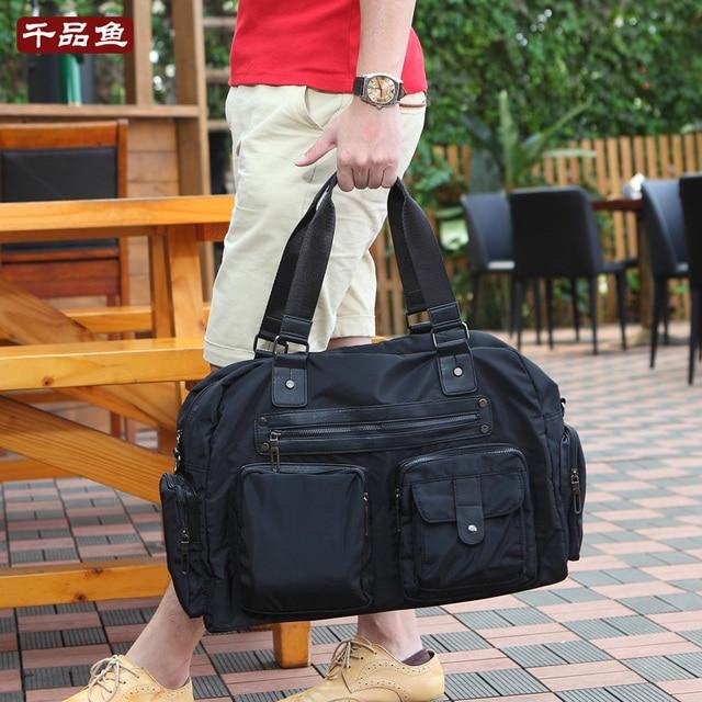 Aliexpress.com : Buy Best fashion man casual travel bags nylon ...