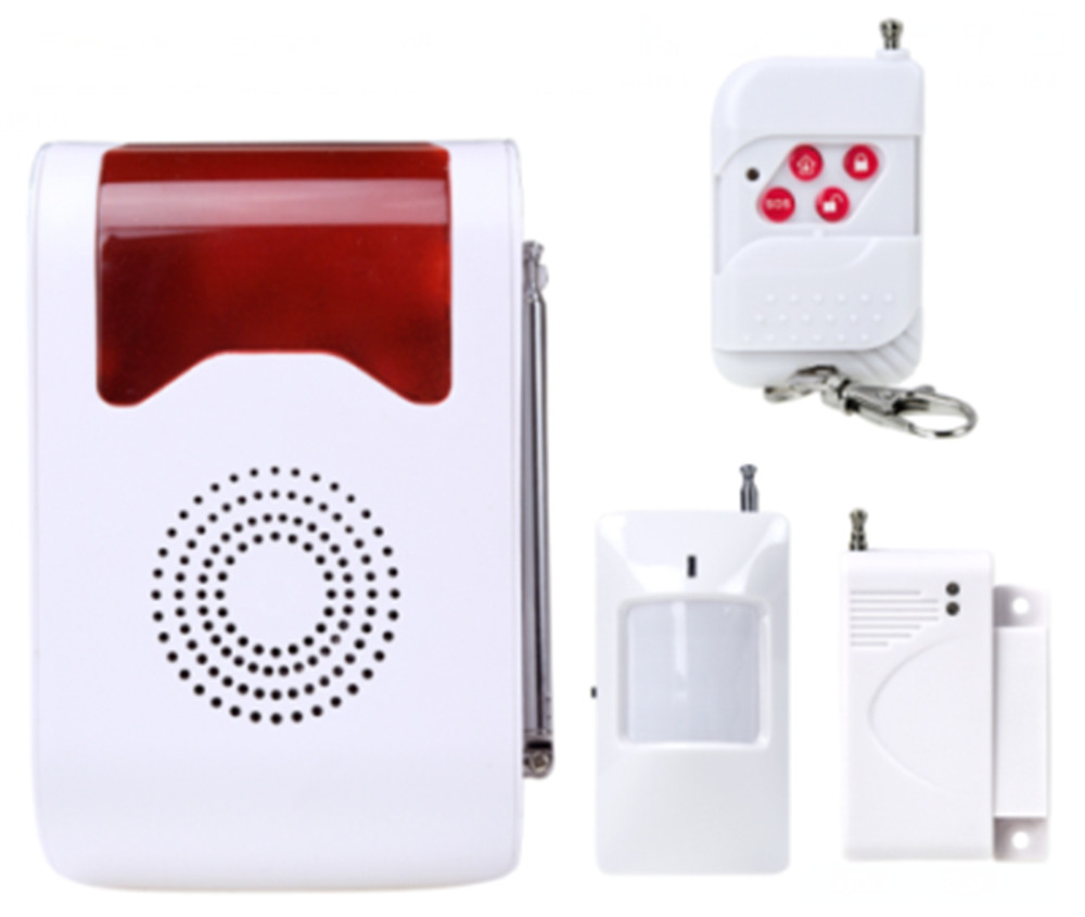Wireless Voice acousto-optic Site Alarm Day/Night Working Spot Dector Home Alarm System site forumklassika ru куплю баян юпитер