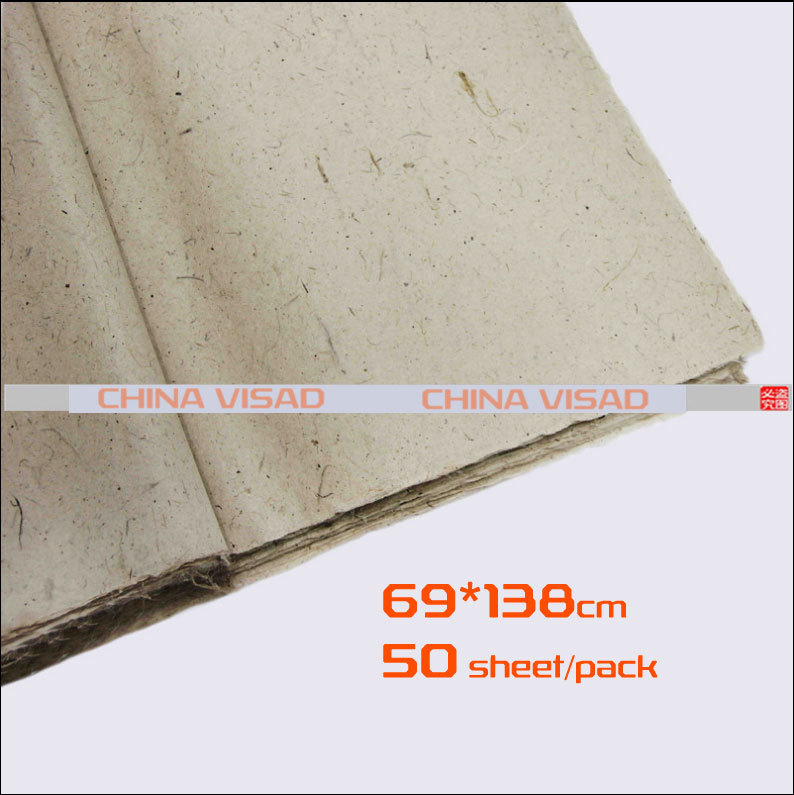 Chinese painting paper, Chinese Rice paper & natural colour yunlong xuan paper,50 sheets/pack 69*138 cm,free shipping free shipping dia 84cm chinese paper parasol rain sunshade womens umbrella with anthemy picture handmade oiled paper umbrella