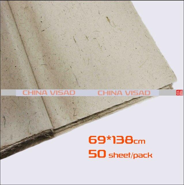 Pintura china, papel de arroz chino y color natural yunlong Xuan ...