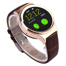 1.22″ Inch Round Touch Screen Bluetooth Smart Watch Wristwatch Support GSM SIM Card For Android Phone iOS iPhone