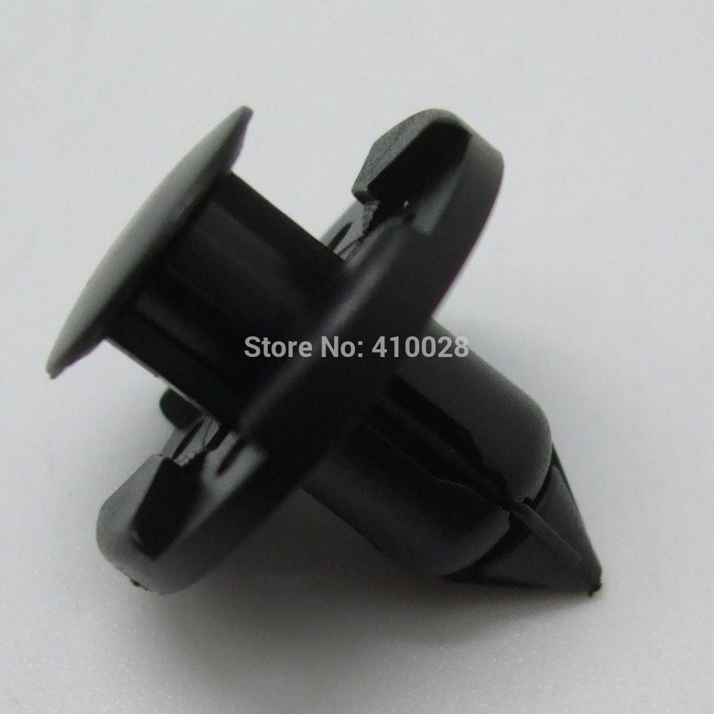100PCS PLASTIC RIVET FASTENER BUMPER PUSH CLIPS FOR NISSAN 350Z INFINITI G35 FX35 01553-09321