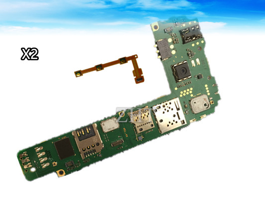 Unlock Original Mainboard Board Motherboard For lumia X2 Dual Motherboard Chips Logic Board  Free shipping