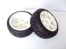 1/5 Baja 5B Delantero Carretera Wheel Conjunto Con Nylon Super Star Wheelx 2 unids