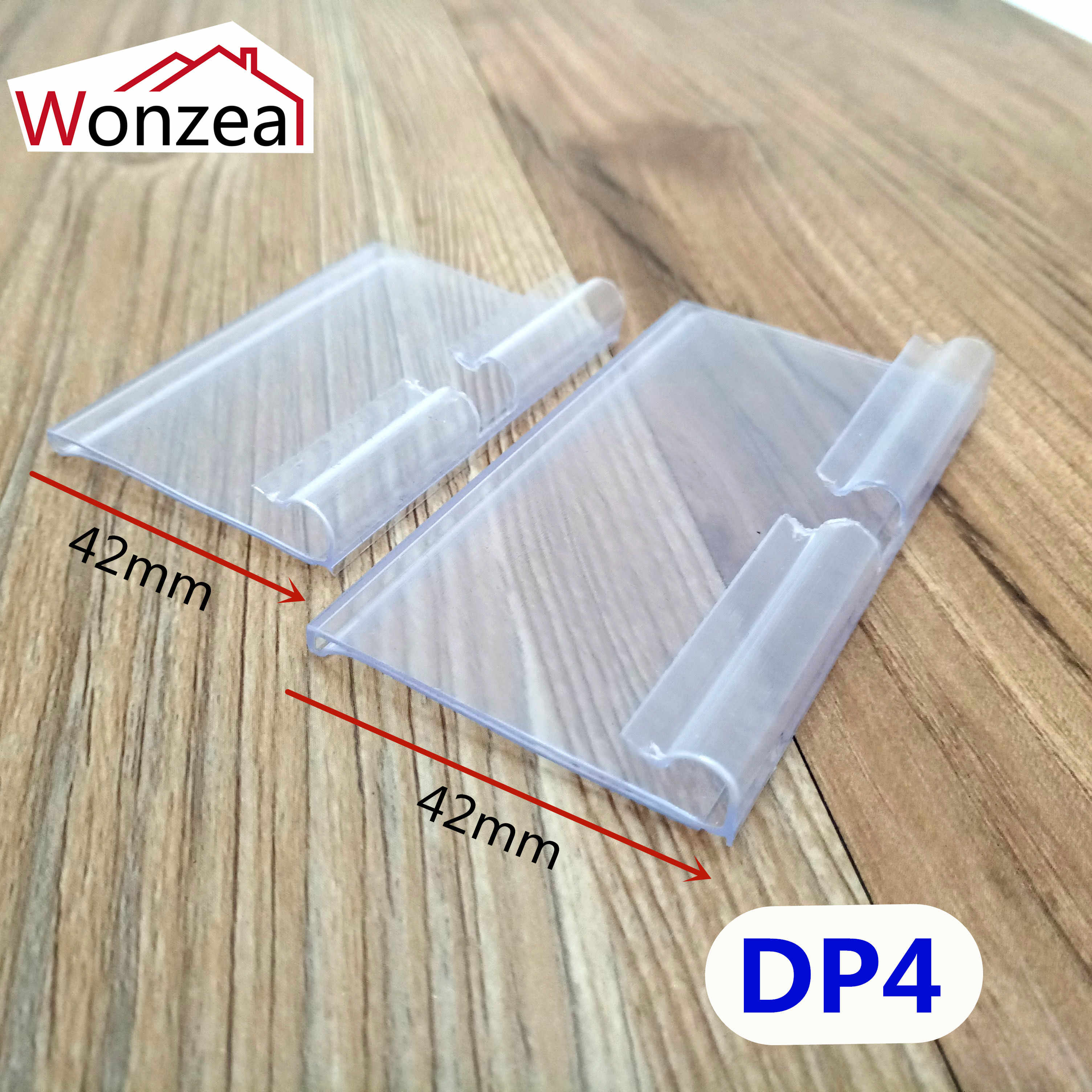 10 sztuk jasne z tworzywa sztucznego PVC metka z ceną znak etykieta wyświetlacz uchwyt pogrubienie dla regał sklepowy wieszak lub w supermarkecie