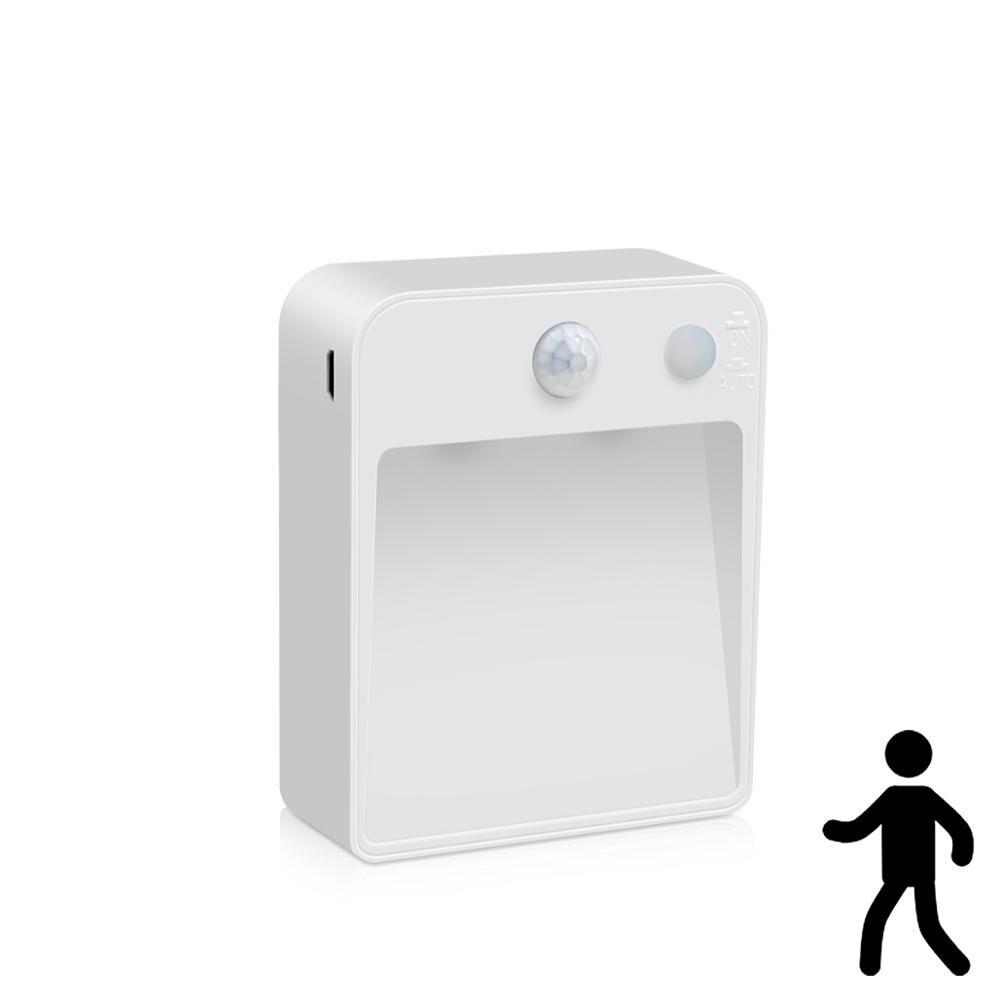 Светодиодный Сенсор лампа ночник ПИР Беспроводной светильник с датчиком движения Сенсор беспроводной свет для Гостиная фотофоны для домаш...