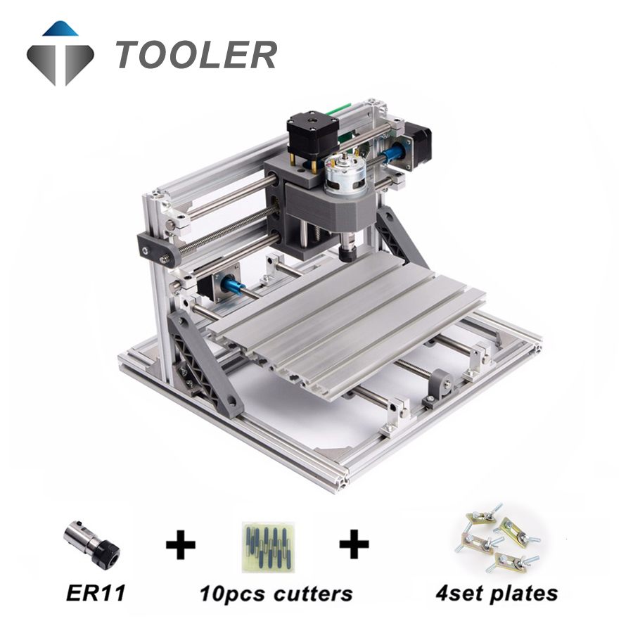 Cnc 1610 Grbl Control Diy Mini Machineworking Area 16x10x45cm Wood Router Wiring Diagram Cnc1610 With Er11mini Laser Engraving Machinepcb Milling Machinewood Carving