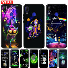Funny Rick and Morty Cartoon Anime Case For Xiaomi Redmi Not