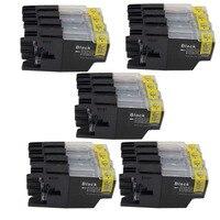 Ersatz Tinte patronen Für LC1240 LC1280 LC1220 MFC J5910DW J6510DW J6710DW J6710D MFC J6910DW J825DW J835DW-in Tintenpatronen aus Computer und Büro bei
