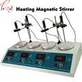 Магнитная мешалка с нагревательной машиной HJ-4A 4 в 1 цифровая стабильная нагревательная магнитная мешалка 110/220 в 1 шт.
