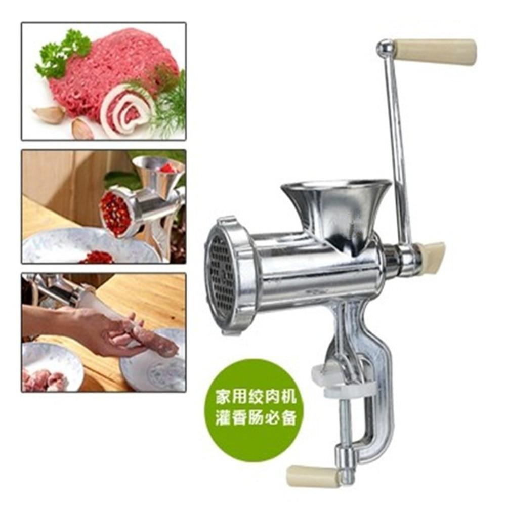 Купить с кэшбэком Meat grinder multifunctional household manual meat grinder hand sausage filler