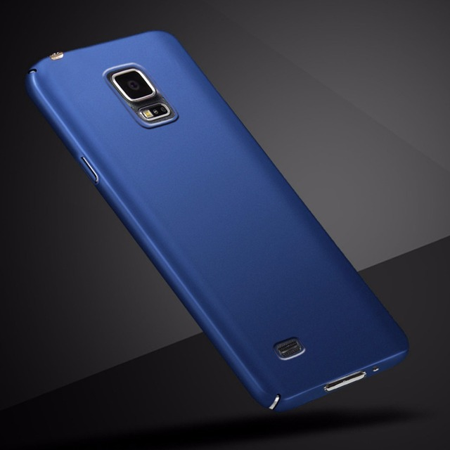 best loved 739ff 464cf US $0.8 23% OFF|Fashion Luxury Hard PC Phone Case For Samsung Galaxy S5 360  Full Nice Back Cover Case For Samsung Galaxy S5 I9500 5.1 Inch -in Fitted  ...