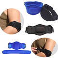 1pcs Cycling Sports Elbow Protective Pad Compression Sleeve Coverage Adjustable Tactical Straps