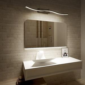 Image 1 - Современные светодиодные зеркальные фары, декоративные настенные светильники для ванной комнаты, новый дизайн, креативные зеркальные лампы для дома
