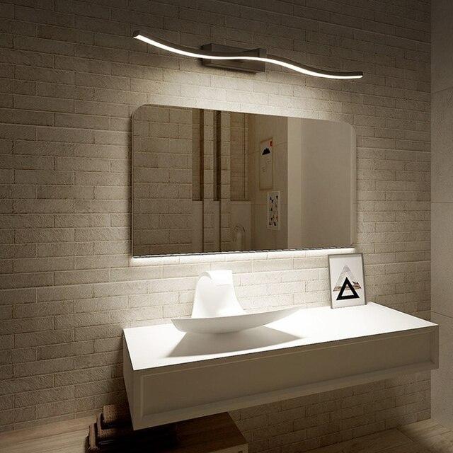 Современные светодиодные зеркальные фары, декоративные настенные светильники для ванной комнаты, новый дизайн, креативные зеркальные лампы для дома