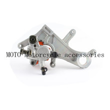 Wholesale prices Dirt Motorcycle parts Rear Brake Caliper with carbon fiber Pads for Honda CR125 CR250 CRF250 CRF450 /X/R 2004-2012 2011 2010