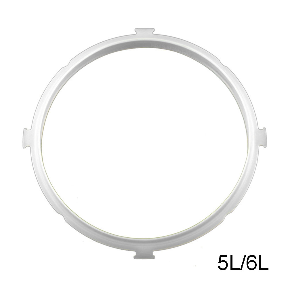 Replacement Silicone Pressure Cooker Gaskets Rubber Clear Electric Pressure Cooker Gasket For Kitchen ToolsReplacement Silicone Pressure Cooker Gaskets Rubber Clear Electric Pressure Cooker Gasket For Kitchen Tools